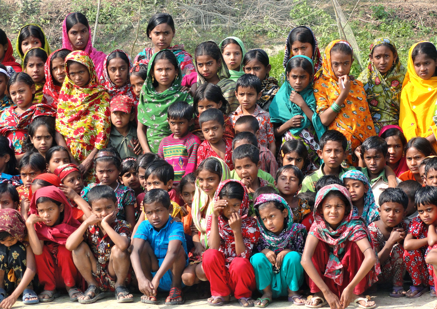 bhola island students